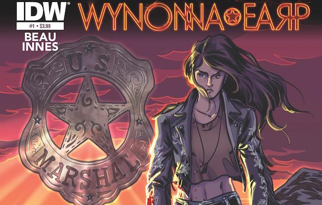 Wynonna Earp comic cover