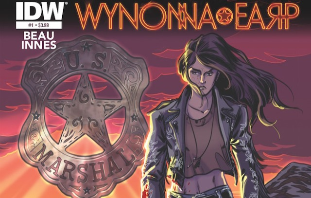 Wynonna Earp comic cover