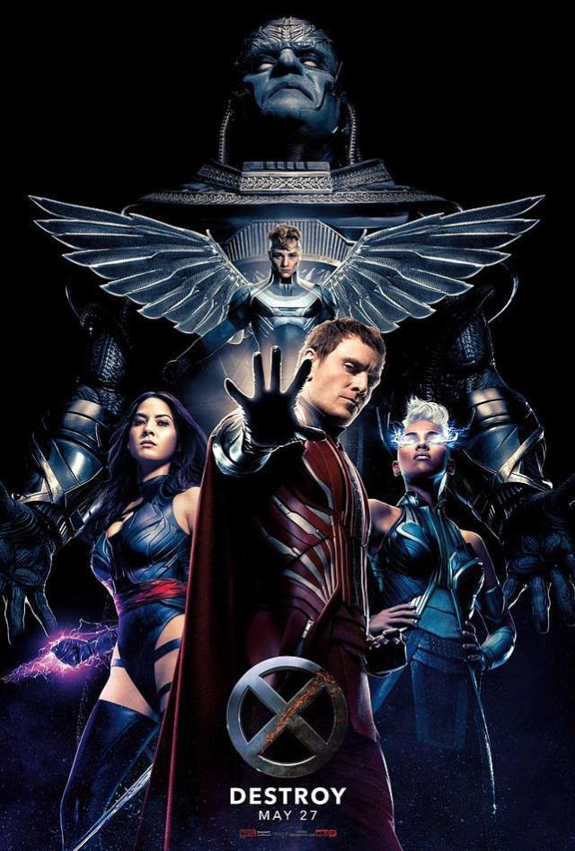 X-Men Apocalypse villains 2016 poster