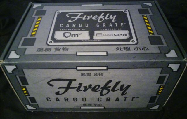 Firefly cargo crate box