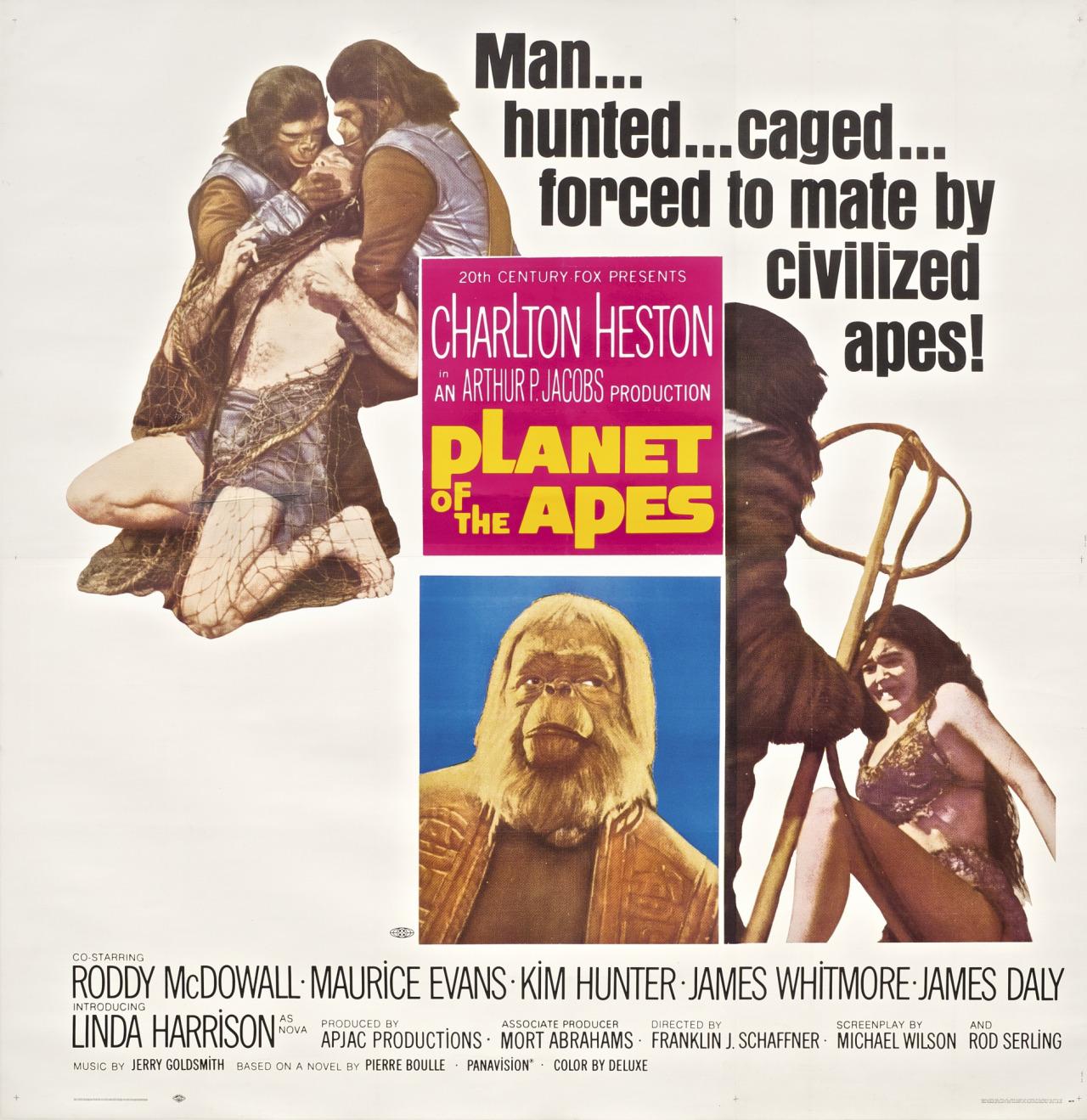 original 1968 scifi classic planet of the apes returns to