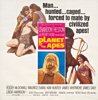 Old Planet of Apes 1968 poster