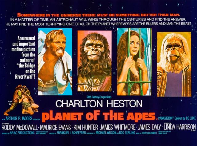 Planet of the Apes movie poster