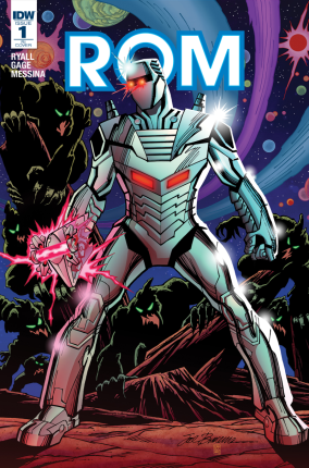 Rom #1 R1 Cover A. Art by Sal Buscema, colors by Mike Cavallaro