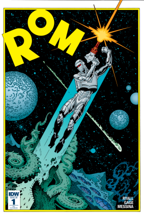 Rom #1 R1 Cover C. Art by P. Craig Russell, colors by Lovern Kindzierski