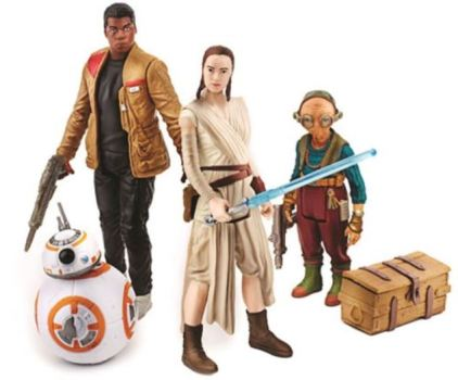 action figures SW TFA