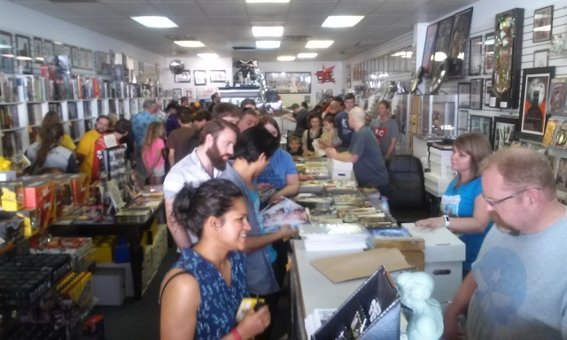 Elite Comics FCBD 2016 CJ Bunce