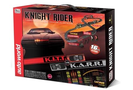 Knight Rider slot cars