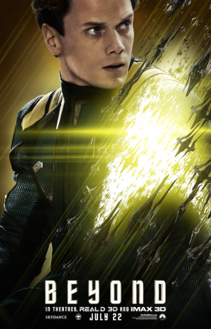 Star Trek Beyond Chekov poster