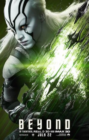 Star Trek Beyond Jaylah poster