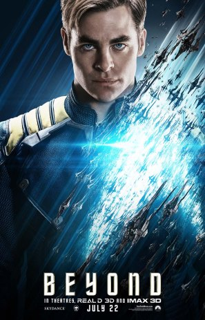 Star Trek Beyond Kirk poster