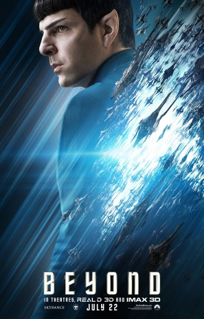 Star Trek Beyond Spock poster