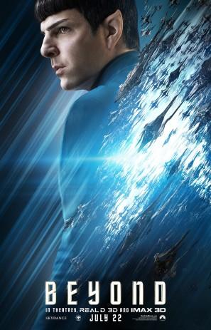 Star Trek Beyond Spock poster