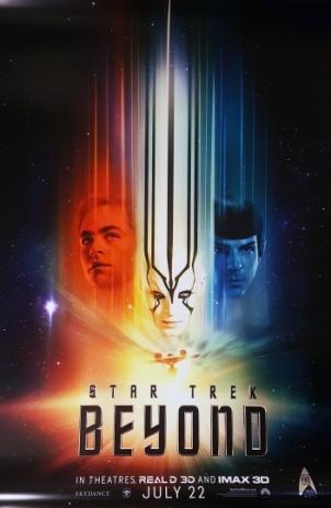 Star Trek Beyond STTMP style poster