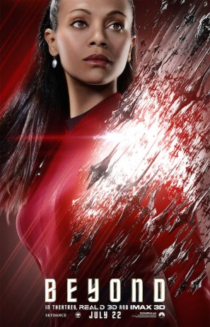 Star Trek Beyond Uhura poster