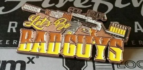 Bad Guys pin