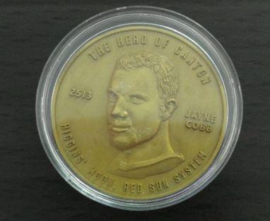 Jayne medal coin