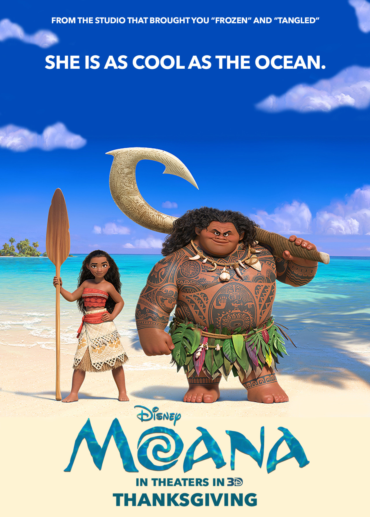 Moana Final Poster For Disneys Wallpapers Is The Next Animated Movie