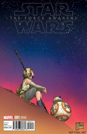 TFA var cover Joe Quesada