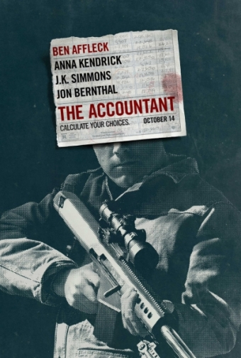 Accountant Affleck movie poster