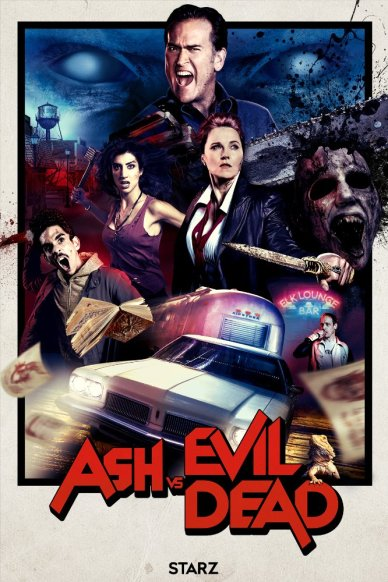 Ash v Evil Dead poster 2016