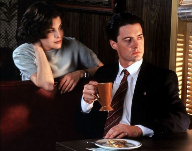 Cooper and Audrey Twin Peaks