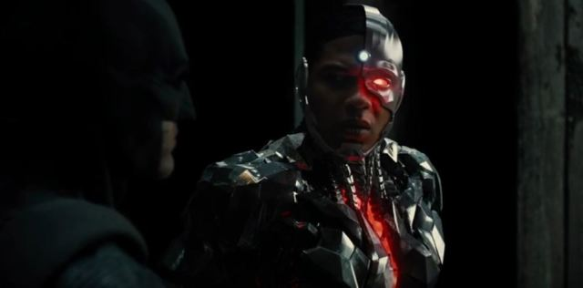 Cyborg and Batman SDCC 2016