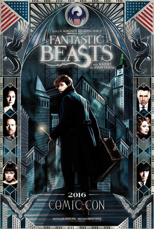 Fantastic Beasts SDCC 2016 poster