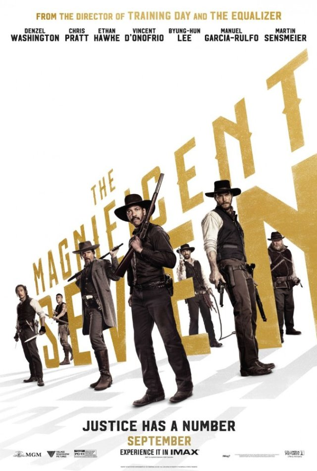 Magnificent Seven SDCC 2016