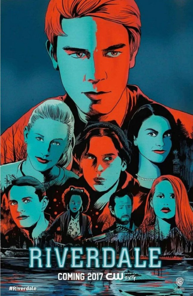 Riverdale CW poster SDCC 2016