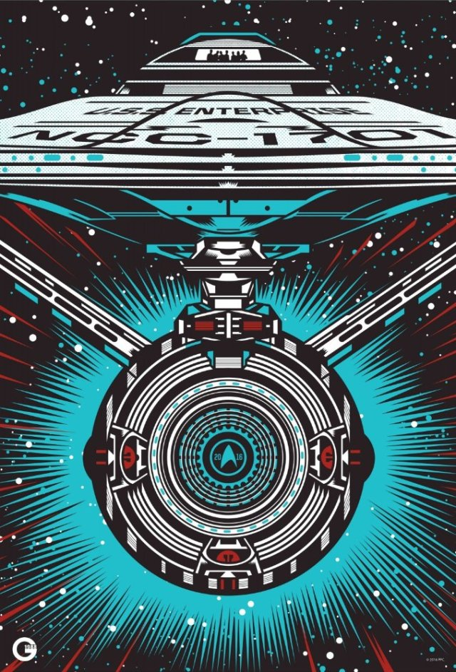 Star Trek Beyond SDCC 2016 poster