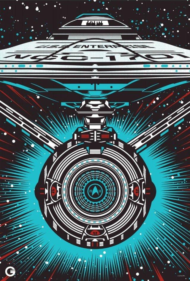 Star Trek Beyond SDCC 2016 poster