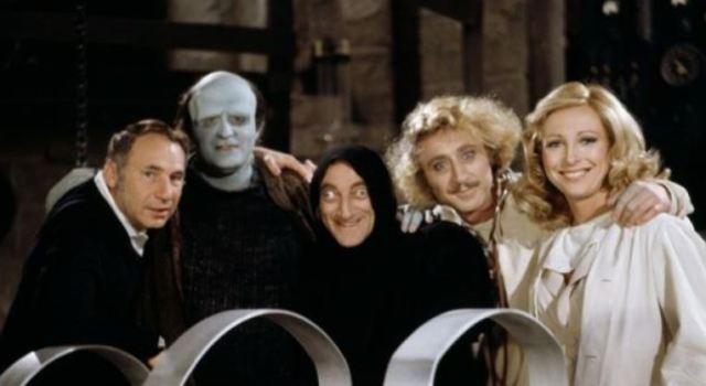 YF cast photo with mel brooks