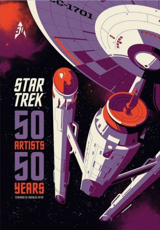 50 Years 50 Artists book Star Trek