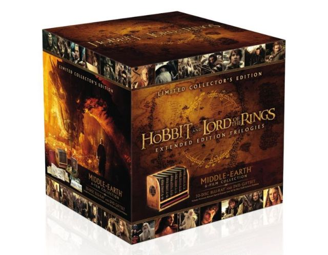 Hobbit Lord of the Rings Boxed set