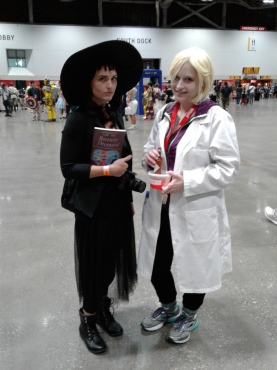 KCCC 2016 Beetlejuice and Liv Moore cosplay