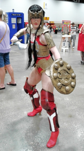 KCCC 2016 Wonder Woman cosplay