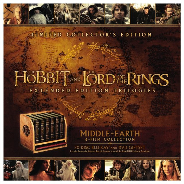 Middle-earth collection blu-rays