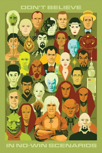 No Win Scenarios Star Trek 50 Years 50 Artists Christenson