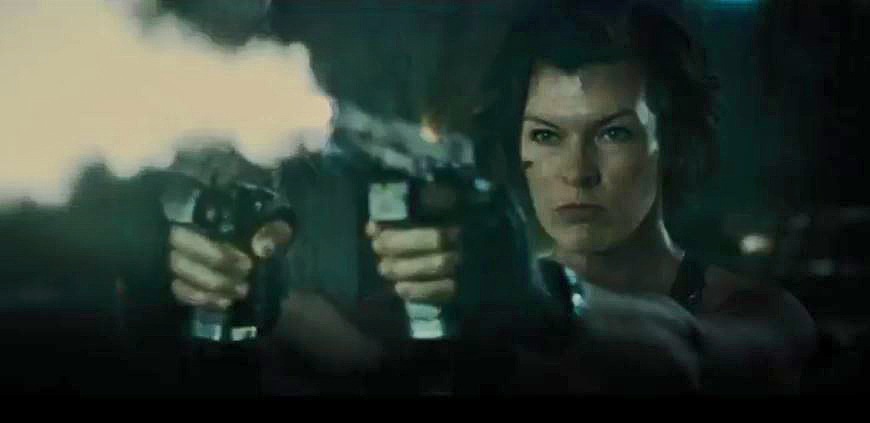 Resident Evil The Final Chapter Movie Clip Alice Awakes: First Look–Milla Jovovich Is Back As Alice In Sixth