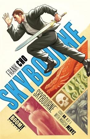 Skybourne cover Frank Cho