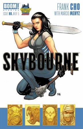 Skybourne Midtown variant cover Frank Cho