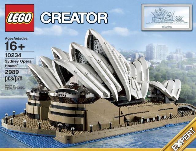 Sydney Opera House LEGO Creator