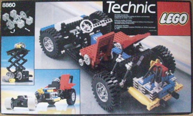 Technic Lego Expert Builder 8860 1980