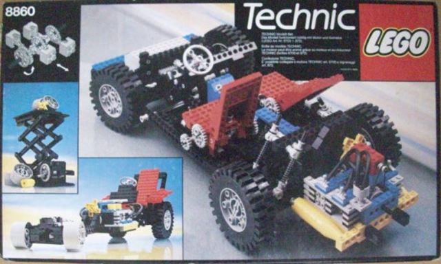 Technic Lego Expert Builder 8860 1980