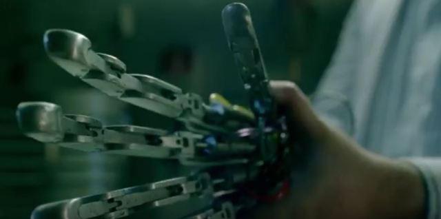 Westworld cyborg hand