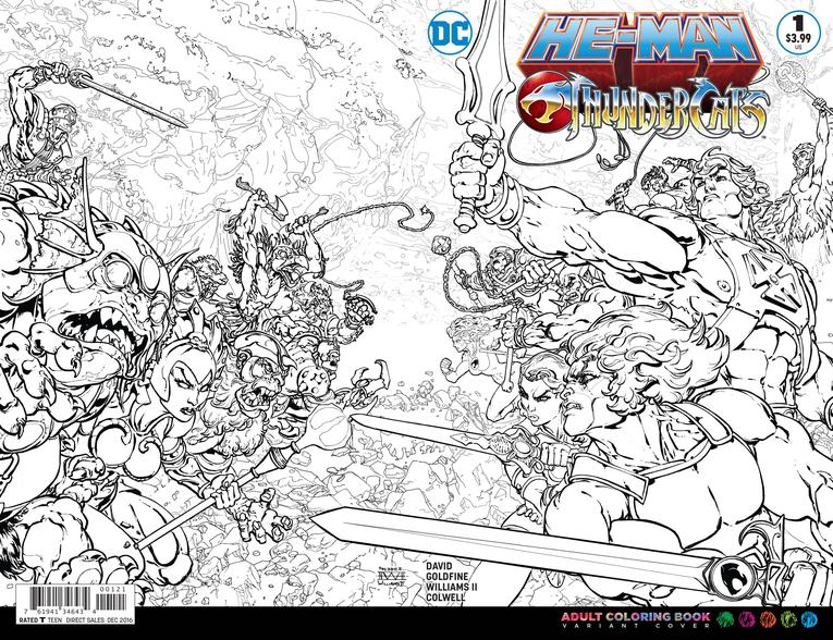 First look–Ultimate 1980s crossover–He-Man and Thundercats ...