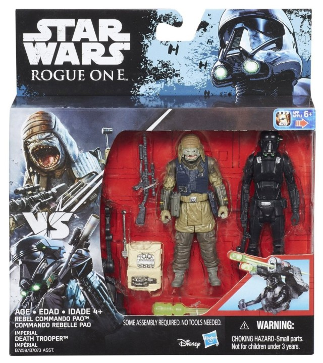 New Rogue One figures B