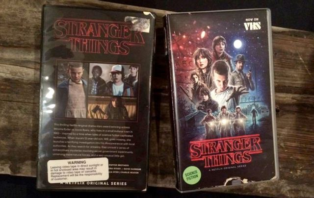 Stranger Things VHS