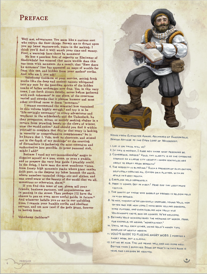"""Wizards of the Coast releases new D&D supplement """"Volo's"""